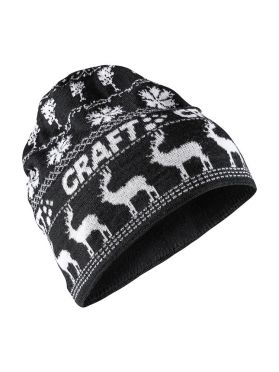 Craft Retro knit hat black/white