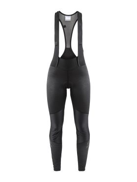 Craft Ideal wind bibtight black/stripes women