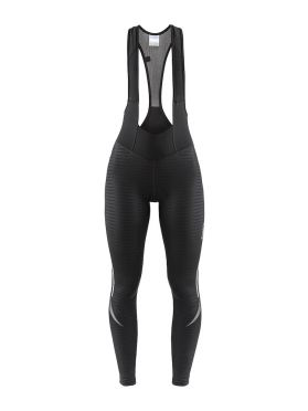 Craft Ideal Thermal bibtight black/stripes women