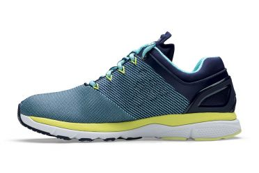 Craft V175 Fuseknit running shoes blue/yellow women