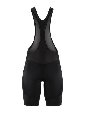 Craft Essence bib shorts black/silver women