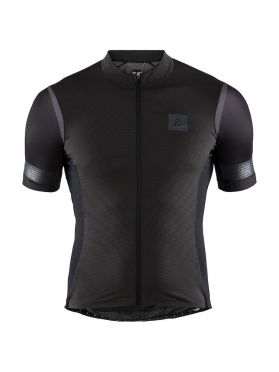 Craft Hale Glow cycling jersey black men