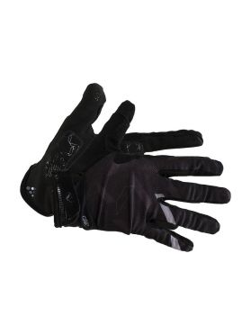 Craft pioneer gel cycling glove black