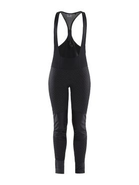 Craft Ideal Pro wind bibtight black/intersect women