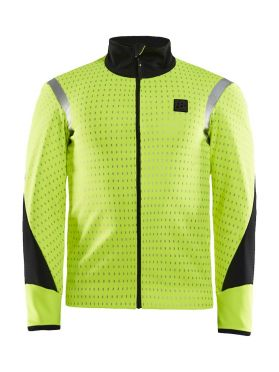 Craft Hale Subzero jacket yellow/black men