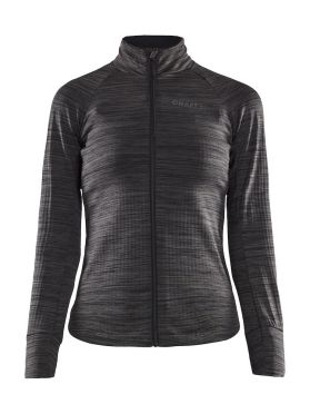 Craft Ideal Thermal cycling jersey long sleeve black/grey women