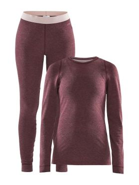 Craft Merino 180 2-Pack baselayer set red women