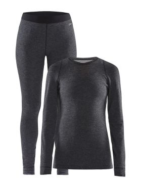 Craft Merino 180 2-Pack baselayer set black women