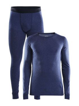 Craft Merino 180 2-Pack baselayer set blue men