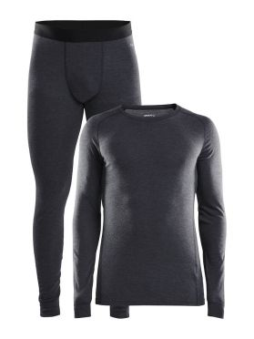 Craft Merino 180 2-Pack baselayer set black men