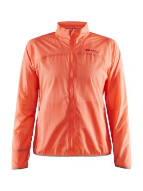 Craft Vent Pack running jacket red women