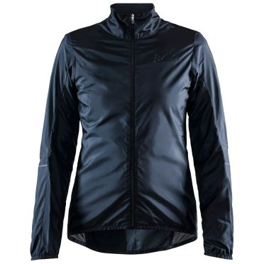 Craft Essence Light Wind cycling jacket black woman