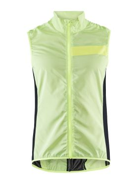 Craft Essence Light Wind vest yellow men