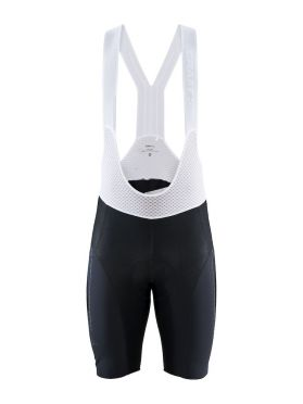 Craft Surge Lumen bib shorts black/white men