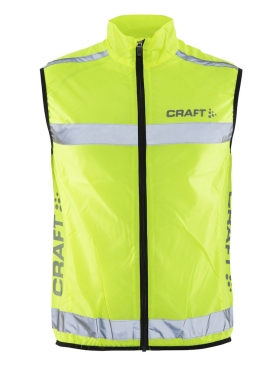 Craft Visibility vest neon yellow