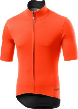 Castelli Perfetto RoS Light short sleeve jersey orange men
