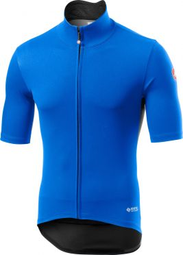 Castelli Perfetto RoS Light short sleeve jersey blue men