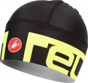 Castelli Viva 2 thermo skully under helmet black/yellow men