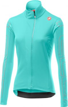 Castelli Transition jacket light blue women