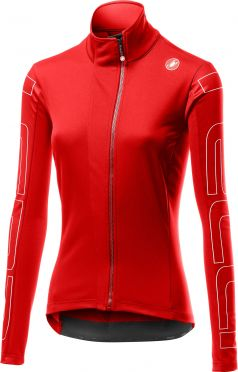 Castelli Transition jacket red women