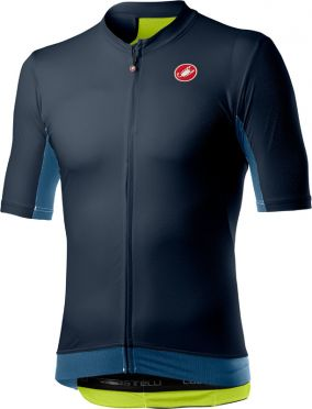 Castelli Vantaggio short sleeve jersey dark blue men