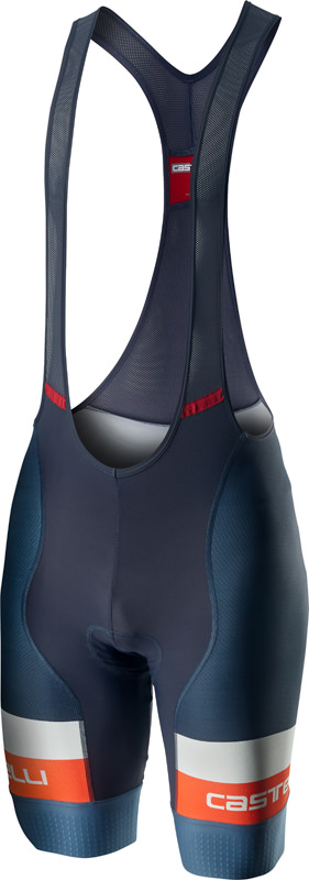 Castelli Competizione bibshort blue/orange men