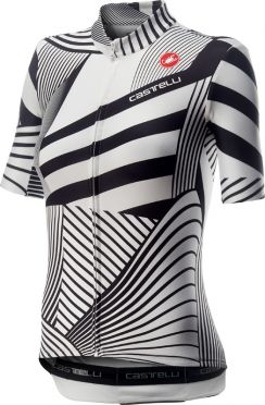 Castelli Sublime short sleeve jersey white/black women