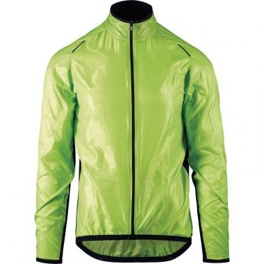 Assos Mille GT wind jacket green men