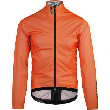 Assos Equipe RS Schlosshund rain jacket orange unisex