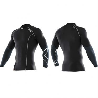 2XU Elite Longsleeve top black men MA1990a
