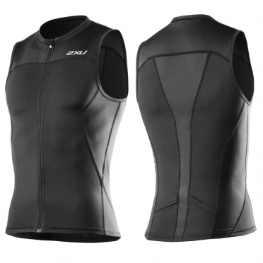 2XU G:2 Multi-sport singlet mens black 2015 MT3108a