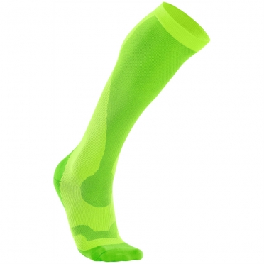 2XU Performance compression socks green purple WA2443e 2015