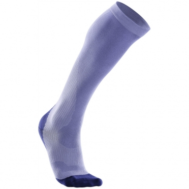 2XU Performance compression socks black purple WA2443e 2015
