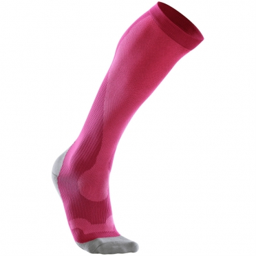 2XU Performance compression socks pink/grey women WA2443e 2015