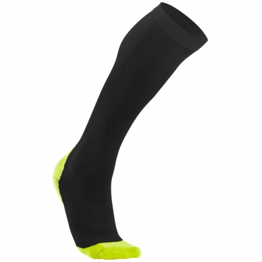 2XU Performance compression socks black/yellow men MA2442e 2015