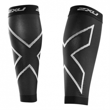 2XU compression calf sleeves black UA2595b 2015