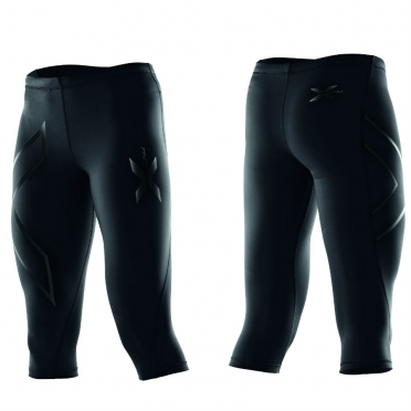 2XU compression 3/4 tight black ladies WA1943b 2015