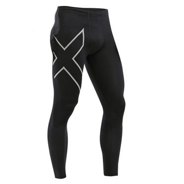 2XU Run Dash compression tight black men
