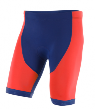 2XU Active Tri short red/blue men