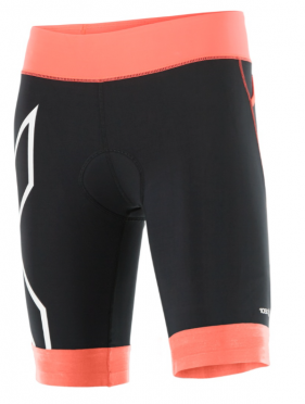 2XU Compression Tri short black/orange women