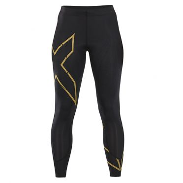2XU MCS Run Compression tights black/gold woman