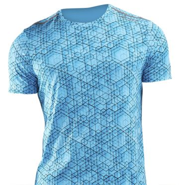 2XU GHST runningshirt short sleeve blue men