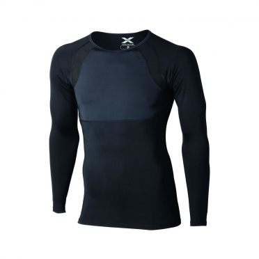 2XU recovery compression longsleeve top black men