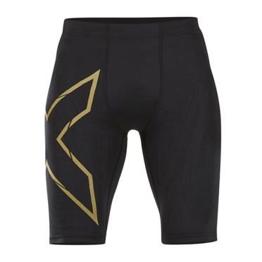 2XU MCS Run Compression shorts black/gold men
