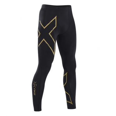 2XU MCS Run Compression tights black/gold men