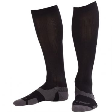 2XU Vectr merino LC Full Lenght compression high socks black