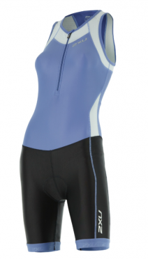 2XU X-vent Y-back Trisuit black/blue women