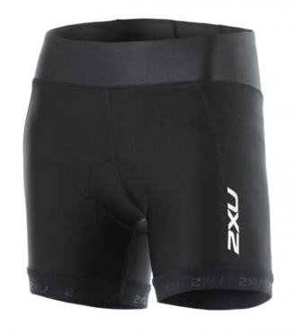 "2XU X-vent 4.5"" Tri short black women"