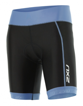 "2XU X-vent 7"" Tri short black/blue women"