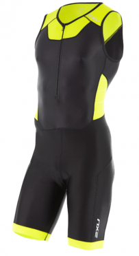 2XU X-vent Trisuit Front Zip black/yellow men